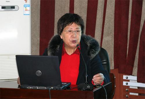 沈阳京科妇科医院院长马凤霞讲座